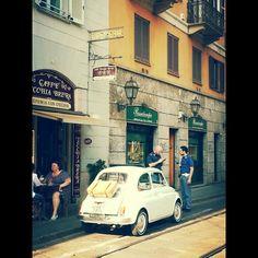Regualr day in brera . Milan, Spaces, Car, Automobile, Autos, Cars