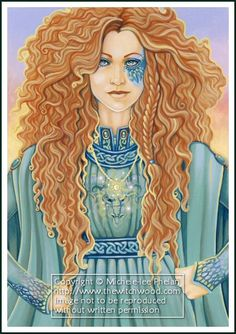 Brigid is the goddess of all things perceived to be of relatively high dimensions such as high-rising flames, highlands, hill-forts and upland areas; and of activities and states conceived as psychologically lofty and elevated, such as wisdom, excellence, perfection, high intelligence, poetry, crafts, healing ability, druidic knowledge and skill in warfare.
