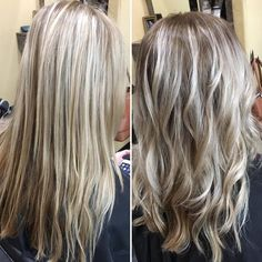 Another stunning root color melt with the perfect balayage by Cora!! I'll have what she's having please! 918.369.8482