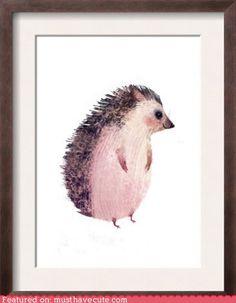 cute kawaii stuff - Wee Hedgehog