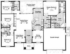 Brick Detailing Makes An Elegant Statement - 63035HD | 1st Floor Master Suite, CAD Available, Florida, Mediterranean, PDF, Split Bedrooms | Architectural Designs