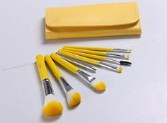 New authentic 8 pcs makeup artist special brush Cosmetic brush with wallet bag ** Read more at the image link.