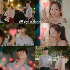 Korean Drama Funny, Korean Drama Quotes, Good Morning Call, Drama Fever, A Love So Beautiful, Weightlifting Fairy, Park Min Young, Kdrama Actors, Whats Wrong