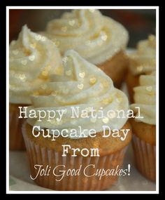 Happy National Cupcake Day!