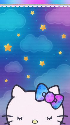 Black Phone Wallpaper, Purple Wallpaper, Iphone Wallpaper, Hello Kitty Backgrounds, Hello Kitty Wallpaper, Background Pictures For Phone, Cute Wallpapers, Wallpaper Backgrounds, Melody Hello Kitty