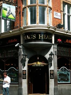 The Nags Head 10 James Street, Covent Garden London, England