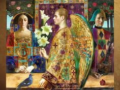Golden Annunciation, Olga Suvorova