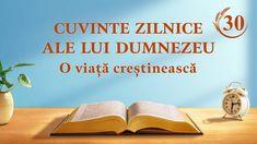 """Cuvinte zilnice ale lui Dumnezeu   Fragment 30   """"Adevărul lăuntric al lucrării de cucerire (1)""""  #Cuvinte_zilnice_ale_lui_Dumnezeu #Dumnezeu #evlavie #O_lectură_a_Cuvântul_lui_Dumnezeu #hristos #rugaciuni #Biblia  #Evanghelie #Cunoașterea_lui_Dumnezeu Todays Devotion, Word Of God, God Is, Padre Celestial, Saint Esprit, Daily Word, Celebration Quotes, Normal Life, Knowing God"""