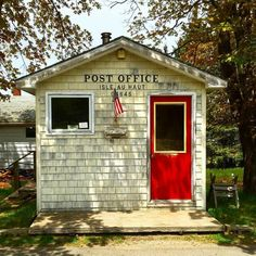 Post Office Isle Au Haut, Maine - Maine Magazine Photo!
