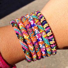 Lily and laura bracelets!! Addicted!  Www.lilyandlaurabracelets.com