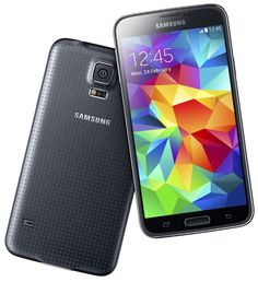 Samsung Reveals Galaxy S5 With Home Button Fingerprint Sensor, Accompanying 'Gear Fit' Band - http://www.aivanet.com/2014/02/samsung-reveals-galaxy-s5-with-home-button-fingerprint-sensor-accompanying-gear-fit-band/