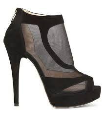 Resultado de imagen para zapatillas de tacon de moda azules de plataforma
