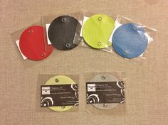 The Vinyl Cord Keeper: 2 per order in Beautiful Solid by Chateau22