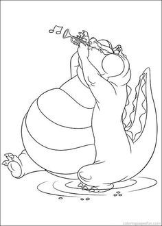 princess and the frog coloring pages 37