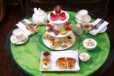 The best afternoon tea I've had so far! Delicious & Decadent
