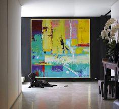 La main grande toile d'Art contemporain peinture par CelineZiangArt