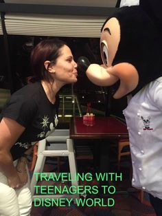Proof that you're never too old for Disney!! Tips for traveling with teenagers to Disney!