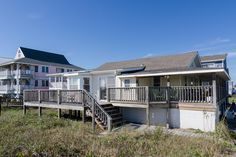 Classic north end oceanfront cottage with additional mother in-law suite - Carolina Beach Beach Cottage Style, Beach House, Carolina Beach, Beach Vacation Rentals, The Dunes, In Law Suite, Beach Cottages, House Rentals, Bella