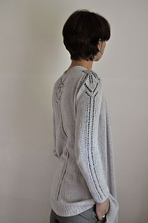 Summerhill by ANKESTRICK - beautiful cardigan with lace weight yarn - purchase pattern here