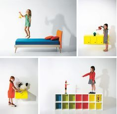 Nidi, increíbles muebles infantiles de diseño by Battisttella
