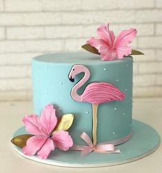 Flamingo Party, Flamingo Cake, Flamingo Birthday, Jungle Cake, Beach Cakes, Gateaux Cake, Tropical Party, Novelty Cakes, Cake Boss