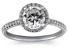 This ring will make your center diamond stand out like no other ring.