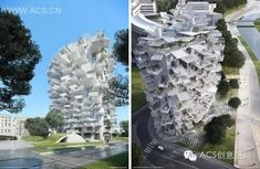 White Tree , Montpellier, France by Sou fujimoto, Nicolas Laisné Associés and Oxo Architects - 谷德设计网 Montpellier, France, Design Ideas, Home, Ad Home, Homes, Haus, French, Houses