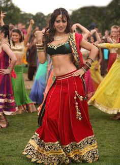 Buy Bollywood Style Neha Sharma Georgette Lehenga In Red and Green Colour online in India at best price.Bollywood Style Neha Sharma Georgette Lehenga In Red and Green Colour Red and Green Colour Georgette Bollywood Lehenga, Red Lehenga, Bridal Lehenga Choli, Indian Lehenga, Indian Bollywood, Bollywood Fashion, Bollywood Style, Bollywood Bridal, Bollywood Outfits
