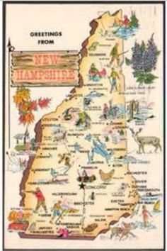 Postcard from New Hampshire