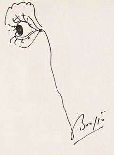 Brassai: A signed self-portrait. @Lucy Kemp Honeychurch