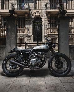 Classic Honda Motorcycle