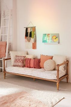 Slide View: 1: Rohini Printed Daybed Cushion