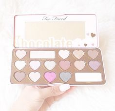 Too Faced Chocolate Bar Pallet ♡ Pinterest : @1kco0zwe8r4mzzk
