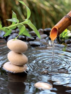 Zen Bamboo Water Rockslight switch plate by SindyOriginalDecor Massage Place, Good Massage, Face Massage, Elegant Home Decor, Elegant Homes, Zen Room, Zen Meditation, Meditation Meaning, Esthetician Room