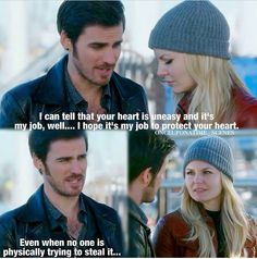 #CaptainSwan Could Killian be a better boyfriend...? Maybe if he became her fiancé...