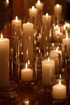 Candles, candles everywhere!