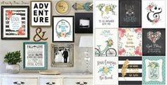 $5.99 - BOGO Free Collage Wall Mix & Match Art! - http://www.pinchingyourpennies.com/5-99-bogo-free-collage-wall-mix-match-art/ #BOGO, #Jane, #Pinchingyourpennies, #Wallart