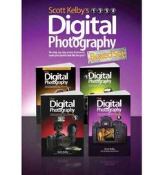 Scott Kelby's Digital Photography Boxed Set, Parts 1, 2, 3, and 4   By (author) Scott Kelby