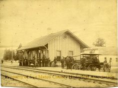 Historypin | San Mateo County History Museum | Redwood City Railroad Station