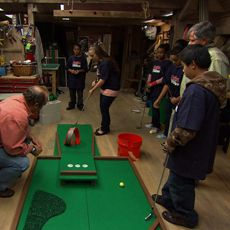 One of my favorite memories- our block party mini-golf day... each home built one creative hole, and we spent the day putt-putting from house to house... Lakewood Balmoral is a magical place!