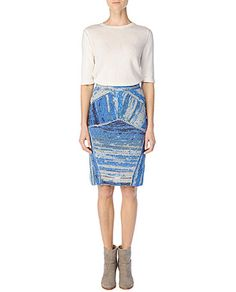 space dyed jasmin skirt by rag & bone