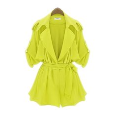 New Arrival Spring/Autumn Collection Short Style Coat In Pure ColourSooo cute.  also in navy, but this is pretty for Spring!