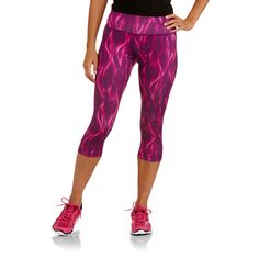9ad7a9a0bcc Danskin Now Women s Allover Printed Capri Tights from walmart believe it or  not- I normally