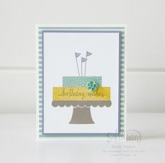 Build A Birthday Stamp Set ~ Sarah Sagert