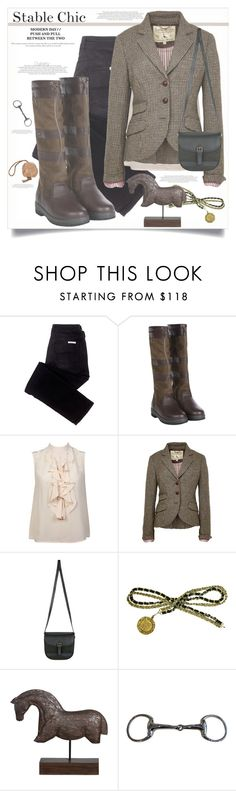 """""""Stable Chic"""" by adduncan ❤ liked on Polyvore featuring sass & bide, DUBARRY, Jack Wills, Chanel, Hermès, Dubarry, StableChic and HorseSense"""