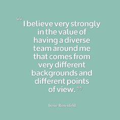 Irene Rosenfeld #Leadership #Quote