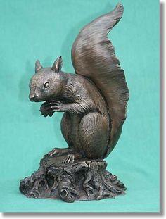 squirrel sculpture - Google Search