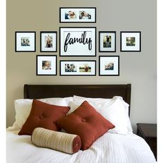 Family Pictures On Wall, Family Photo Frames, Family Picture Walls, Hanging Pictures On The Wall, Family Photos, Framed Pictures, Photo Wall Decor, Family Wall Decor, Family Wall Collage