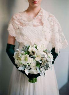 Wedding Gown: Claire Pettibone | Floral Design: Mindy Rice | Photo:   @Elizabeth Messina