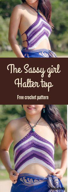 Free crochet halter